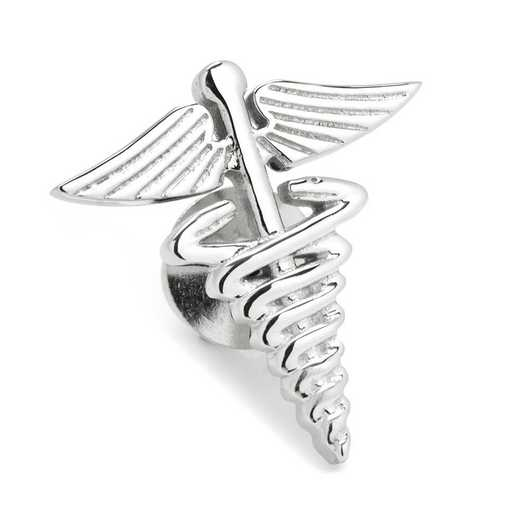 OB-MED3D-LP: 3D Medical Caduceus Lapel Pin